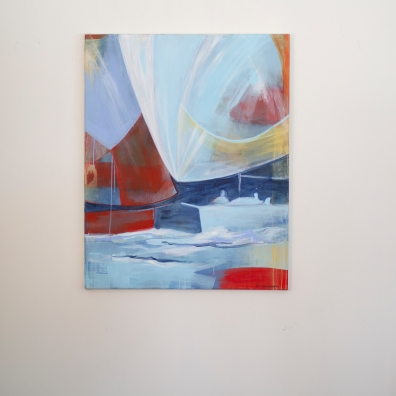 Turid Gyllenhammar original painting sailing - for sale