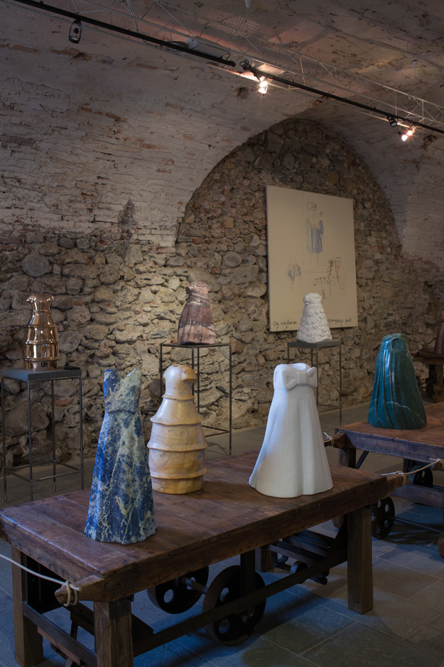 From the Exhibition in Pietrasanta 2018