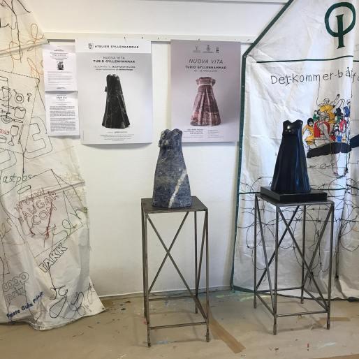 From open atelier at Dikemark, 12-17 september 2019.